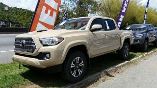 Toyota Tacoma TRD Sport Crema 2017