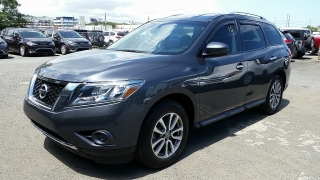 Nissan Pathfinder S Gray 2014