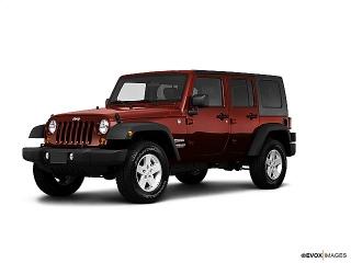 Jeep Wrangler Unlimited Sport Rojo 2010