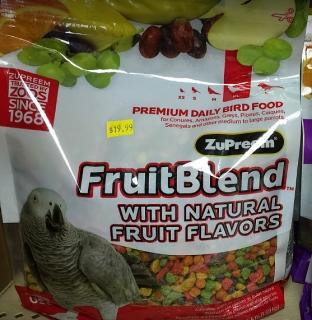 Comida para aves