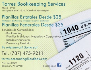 TORRES BOOKKEEPING & ACCOUNTING SERVICES