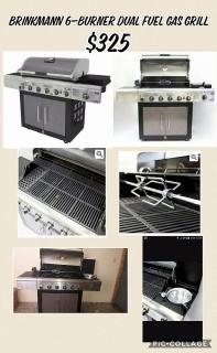 Se vende Brinkmann gas grill