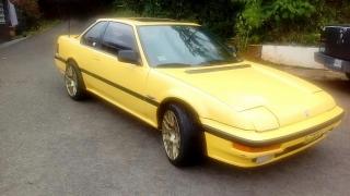 Honda prelude 4WS 1988 Amarillo