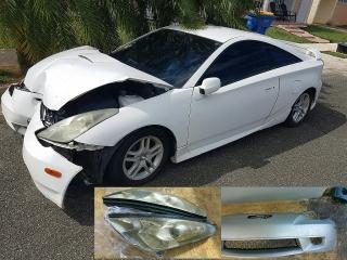 Toyota Celica 2001 Blanco (Impactado)
