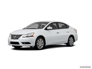 Nissan Sentra S White 2013
