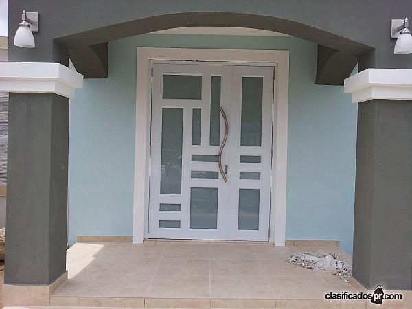 Puertas de seguridad puerto rico for Puertas para casas precios