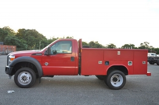 Ford Super Duty F-550 Drw Xl Rojo 2011