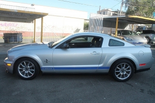 Ford Mustang Shelby Gt500 Plateado 2009