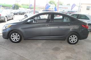 Hyundai Accent Gl Gris Oscuro 2012