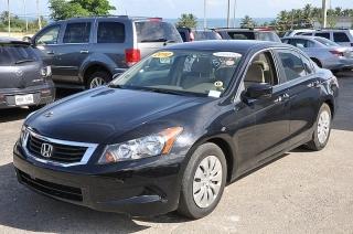 Honda Accord Lx Negro 2010