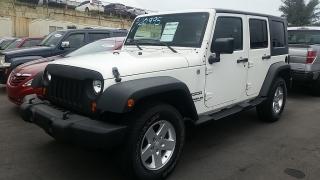 Jeep Wrangler Unlimited Sport Blanco 2010