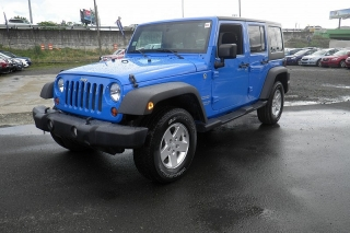 Jeep Wrangler Unlimited Sport Azul 2011