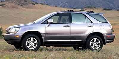 Lexus Rx 300 Verde 2001