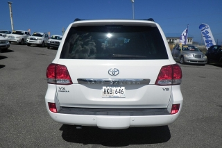 Toyota Land Cruiser Vx Blanco 2008