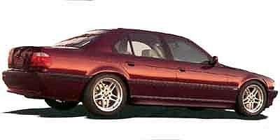 BMW 7 Series 740il Negro 2001