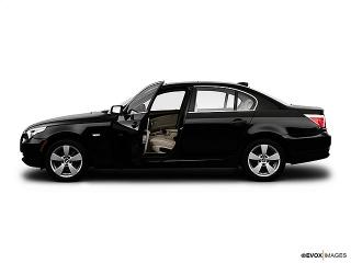 BMW 5 Series 528i Gris 2008