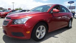 Chevrolet Cruze Lt W/1fl Rojo 2012