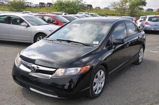 Honda Civic Lx Negro 2008
