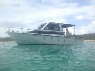 PIZZA BOAT (BOSTON WHALER COMERCIAL)CHALENGER 27