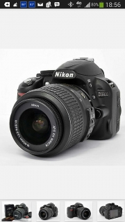 Nikon D-3100 18-55mm VR Kit AF-S DX NIKKOR 18-55 f/3.5-5.6G VR