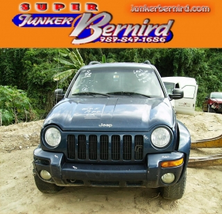 JEEP LIBERTY 2002 GLASS FRONT LH DOOR