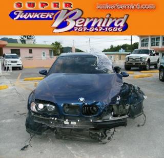 BMW M3 3 SERIES 2003 BUMPER REAR