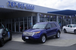Ford Explorer Base Azul 2013