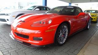 Chevrolet Corvette Zr1 W/3zr Rojo 2010