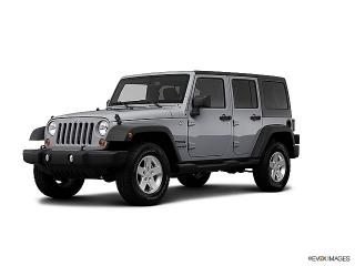 Jeep Wrangler Unlimited Sport Silver 2013