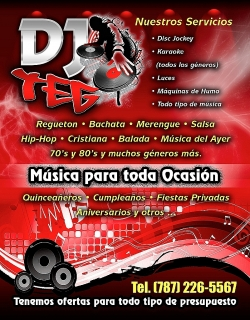 Disc Jockey, Karaoke, Sonido, musica y Luces, DJ TEG ENTERTAINMENT