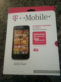 T-MOBILE ALCATEL FIERCE 4G!! ORIGINAL  NUEVO SELLADO