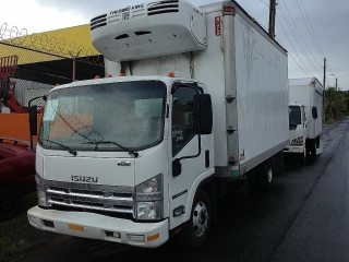 ISUZU NPR THERMO KING MD200 16' 2008