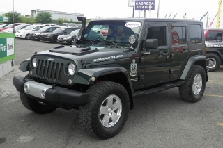 Jeep Wrangler Unlimited Sahara Verde 2010