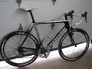 Cannondale Super Six full carbon,