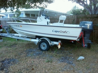 Cape Craft 17' Center Console 2003 Yamaha