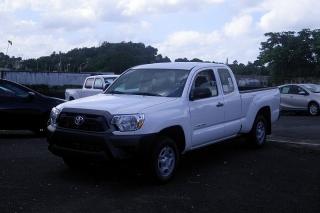 Toyota Tacoma Blanco 2013