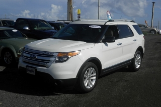 Ford Explorer Base Blanco 2011