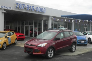 Ford Escape S Rojo Vino 2014