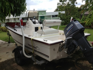 Cape craft 16cc 50hp yamaha 2004