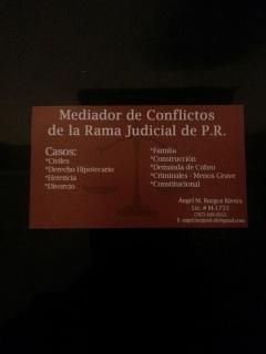 Mediador de Conflictos Licenciado; tus conflictos tienen Solución.
