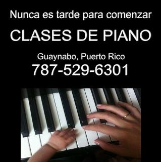 CLASES DE PIANO PARA NIÑOS Y ADULTOS EN GUAYNABO PR