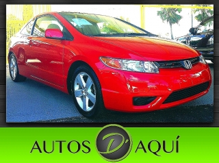 2007 HONDA CIVIC EX VTEC COUPE  SUNROOF
