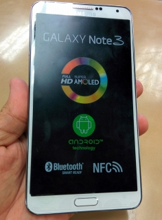 Galaxy Note 3 Blanco Desbloqueado
