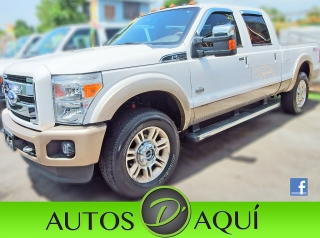 2011 FORD F250 4X4 LARIAT KING RANCH CREW CAB TURBO DIESEL LLAMAR AL TEL. (787) 455-8002