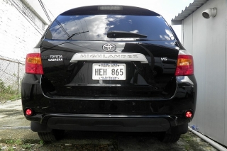Toyota Highlander Base Negro 2008