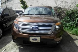 Ford Explorer Xlt Marron 2011