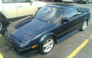 1988 Toyota MR2 Supercharged Edition