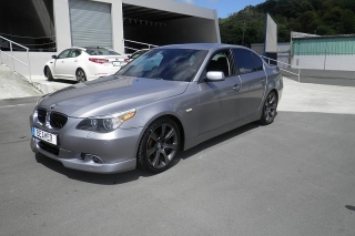 BMW 5 Series 545i Gris Oscuro 2004