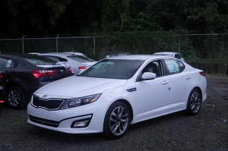 Kia Optima Sx Blanco 2014