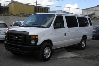 Ford Econoline Wagon Xl Blanco 2012
